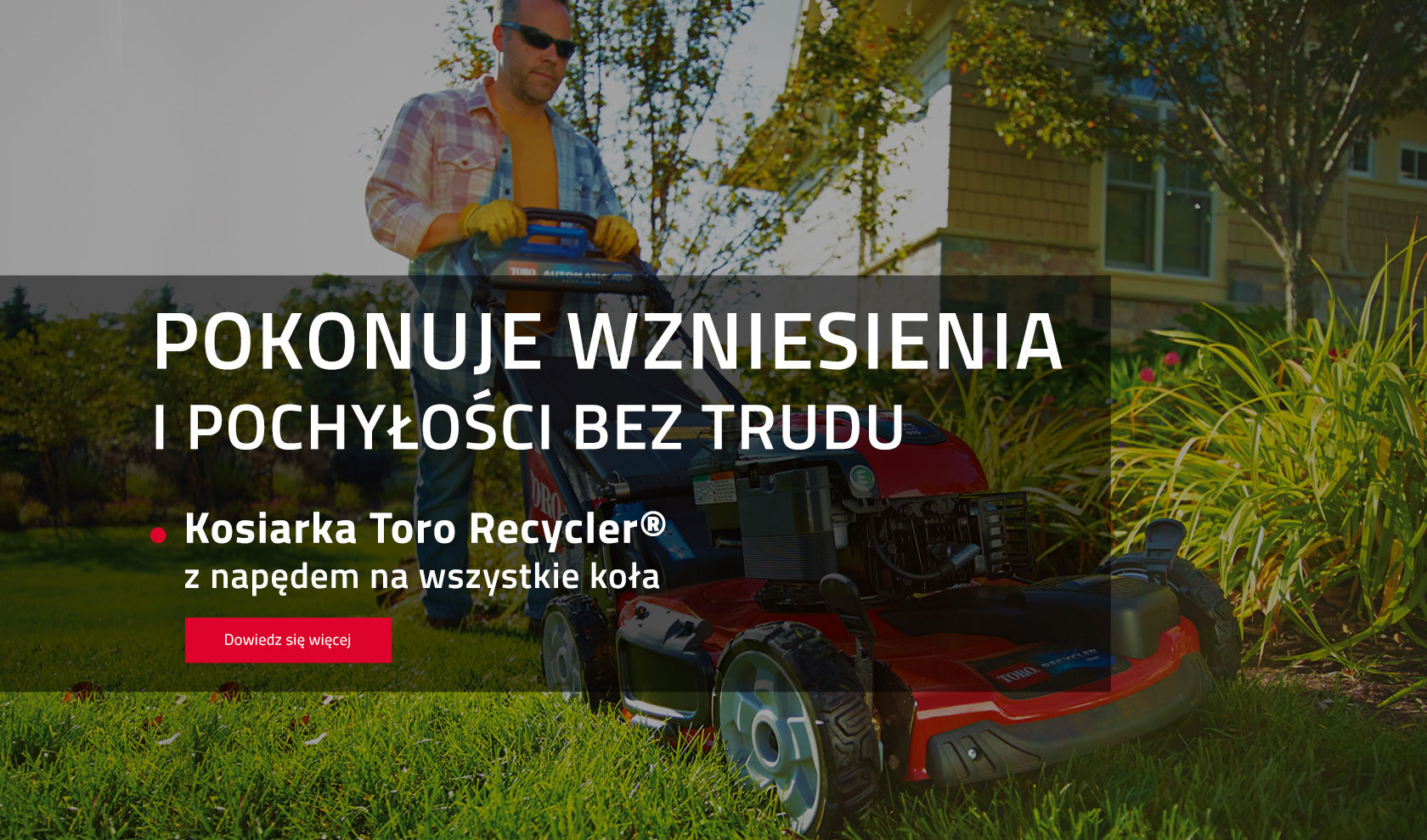 Kosiarka Toro Recyckler All Wheel Drive
